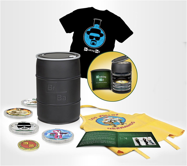 Breaking Bad's Incredible Blu-ray Box Set Will Come Packaged in a Money Barrel