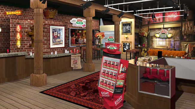 Central Perk Coffee From Friends Pop Up Set For Nyc