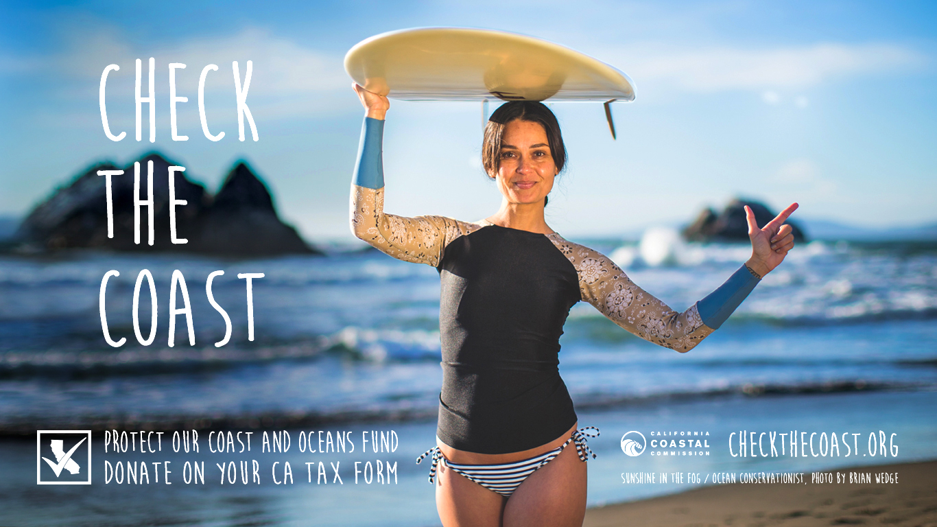 Taking a Selfie Can Now Protect the California Coast, Thanks to This Ad Campaign