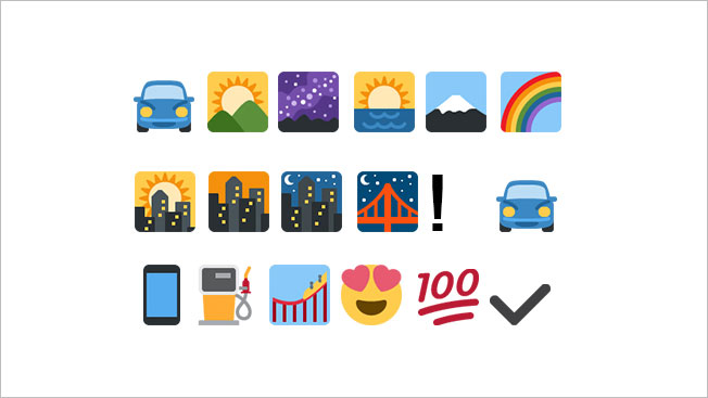 Decoding emoji messages