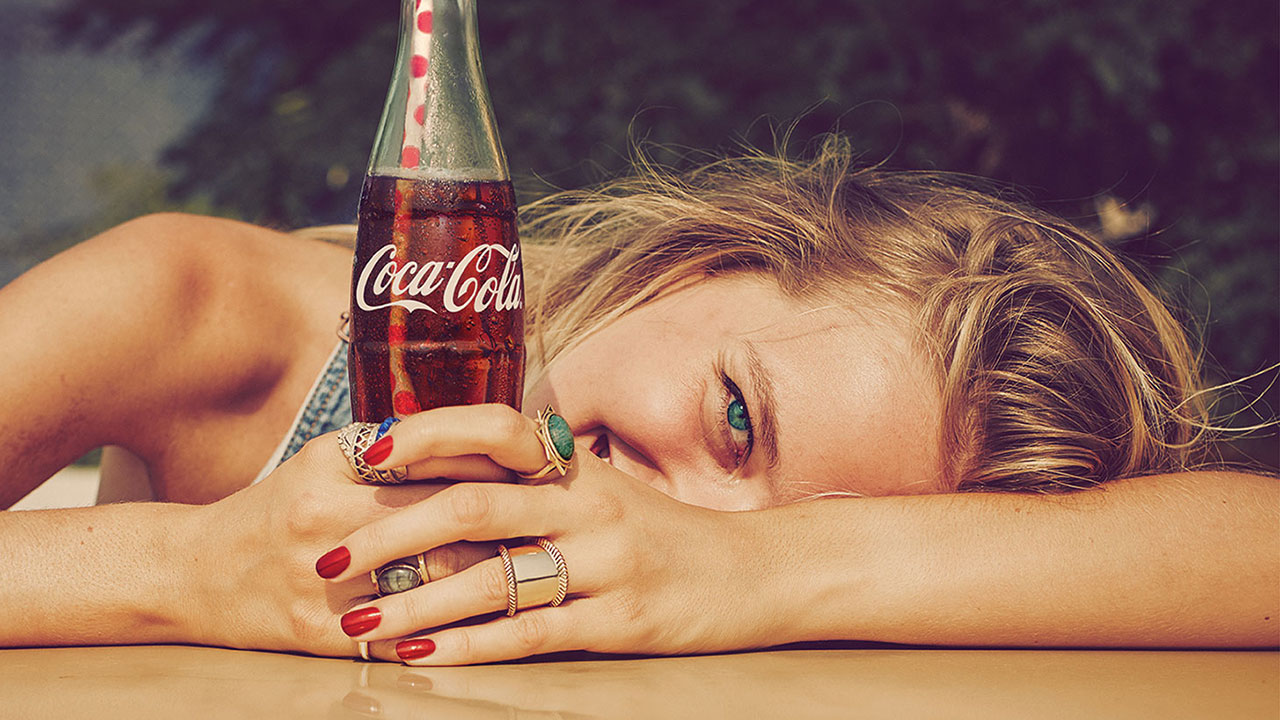 here are 25 sweet simple ads from coca cola s big new taste the