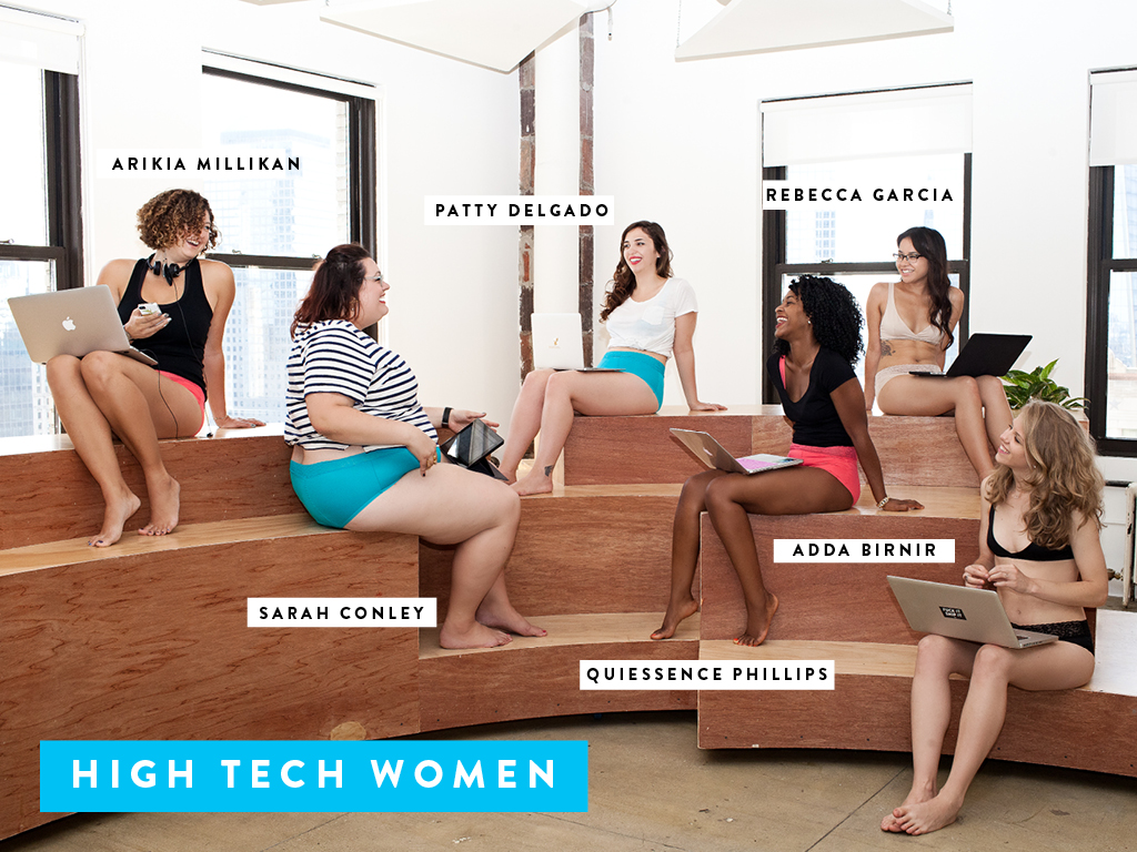 Female CEOs Pose for Underwear Ads: A Step Forward or Back for Women in Tech?