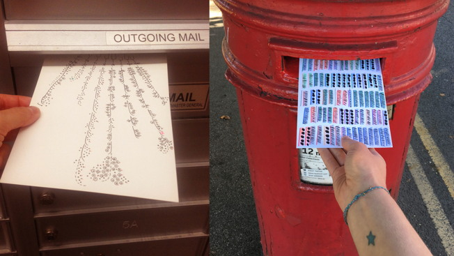 How 2 Data Pros Became Friends by Exchanging Data Visualizations of Their Lives on Postcards