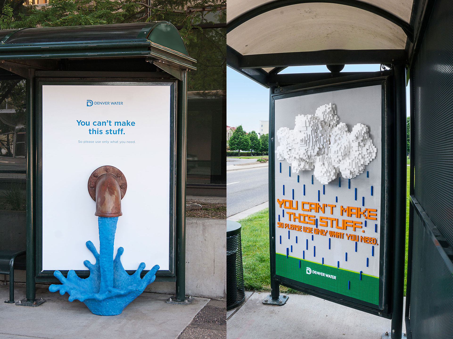 Denver Water S Outdoor Campaign Gets Even Cooler With
