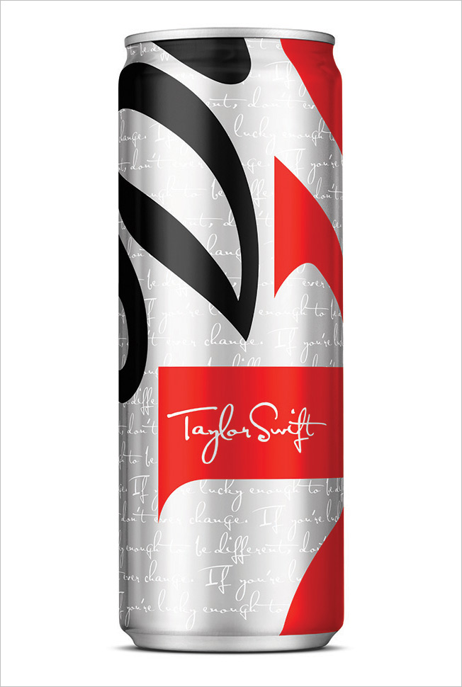 Diet Coke's Taylor Swift Can Is Sleek and Skinny, and You Could Be Too