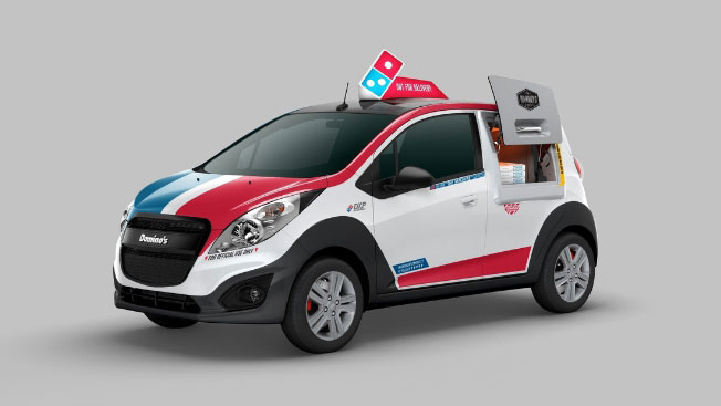 Domino's Just Unveiled a Radical Pizza Delivery Car That