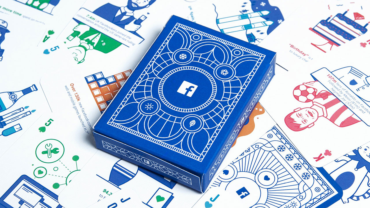 Facebook Made an Amazing Deck of Playing Cards With Marketing Insights for Agencies