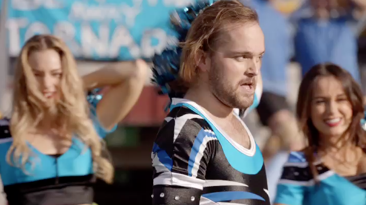 Foster's Embraces a Male Rugby Cheerleader and the Tagline 'Why the Hell Not?'