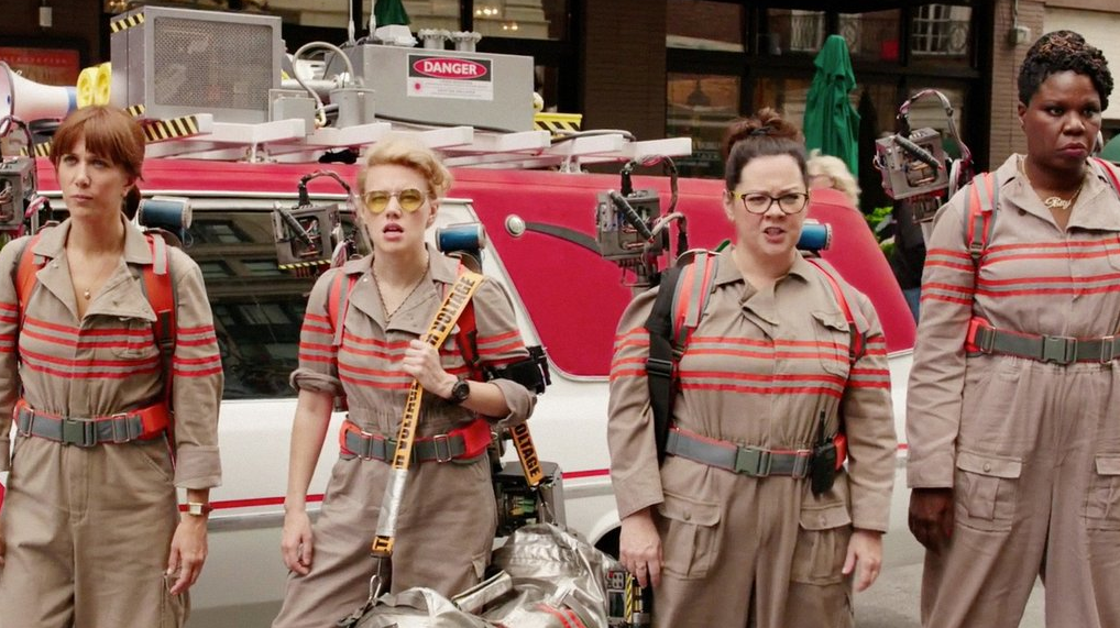 reactions to the all female ghostbusters trailer prove it ll be the