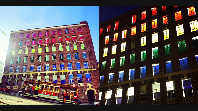 Goodby, Silverstein Turns Its Entire Building Into a Declaration of Gay Pride