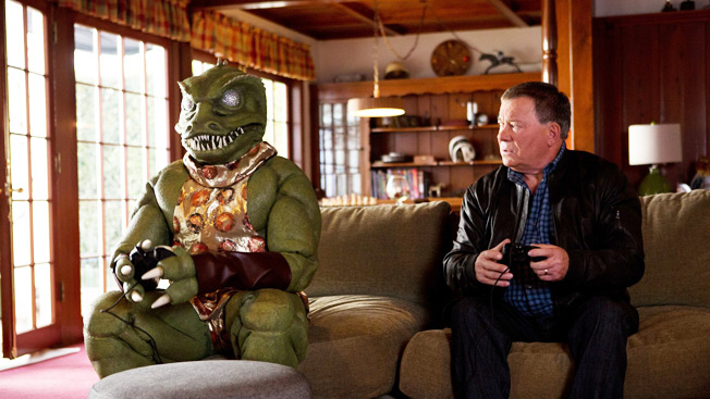 William Shatner Battles The Gorn Once Again In Ad For Star