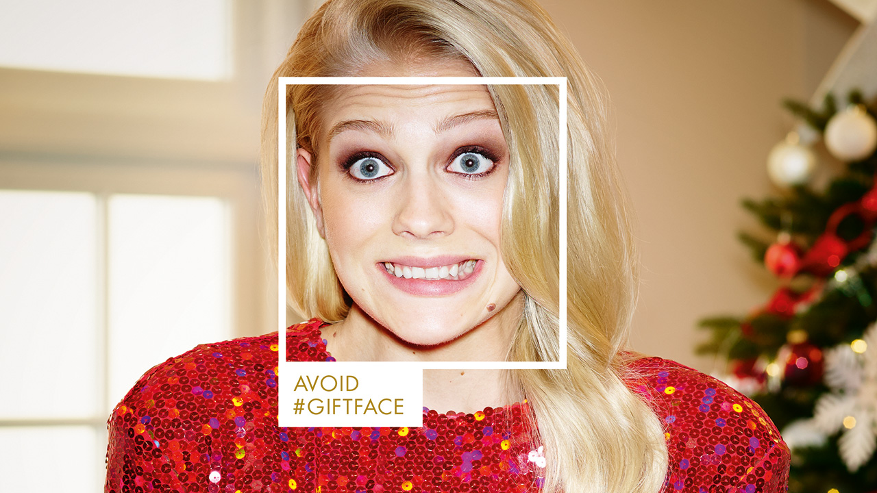 Harvey Nichols Battles \'Gift Face\' This Christmas, Where You Grin ...