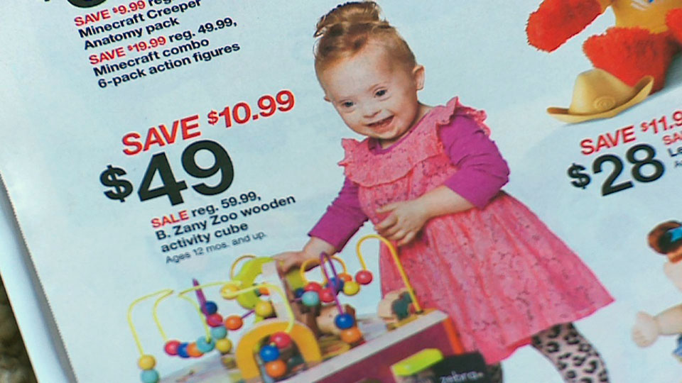 Adorable 2 Year Old Girl With Down Syndrome Shines In This Target Ad