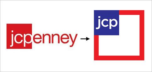 Logo in red square