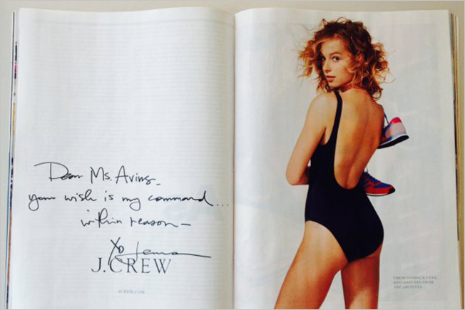 J. Crew Brings Back a Discontinued Swimsuit Just Because One Superfan Asked Nicely