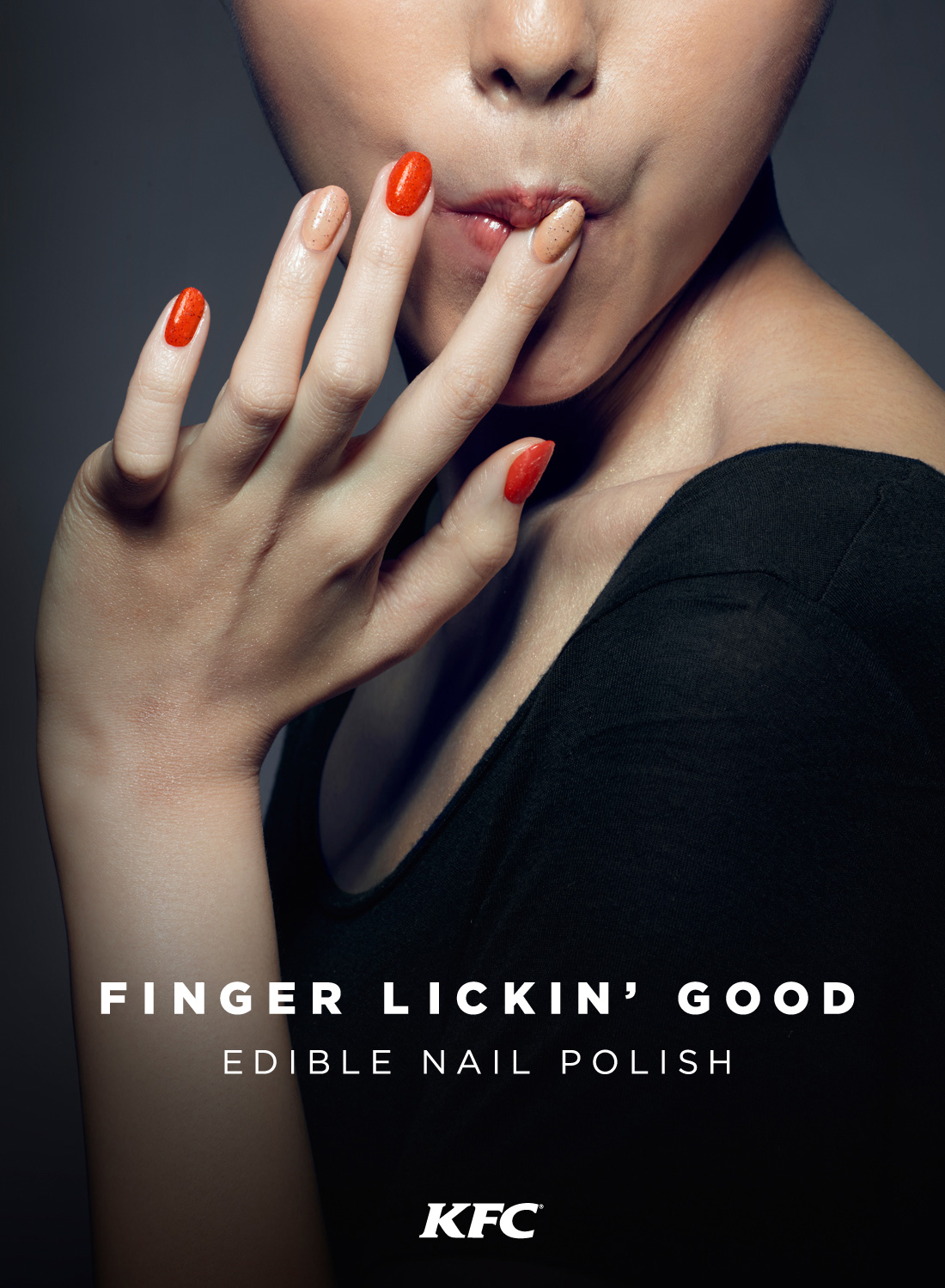 Kfc Just Made Edible Finger Lickin Good Nail Polish That Yeah