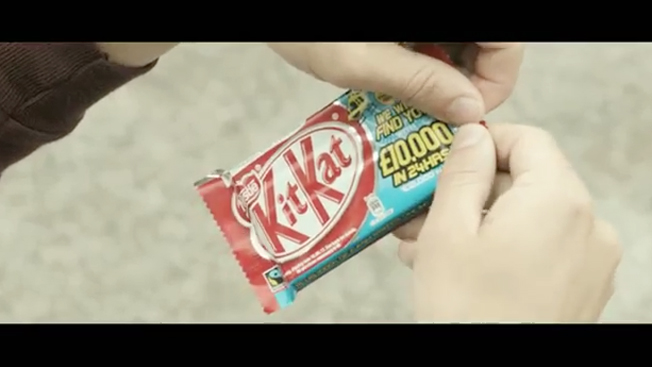 Nestle Puts Gps Trackers In Candy Bars For Golden Ticket Style