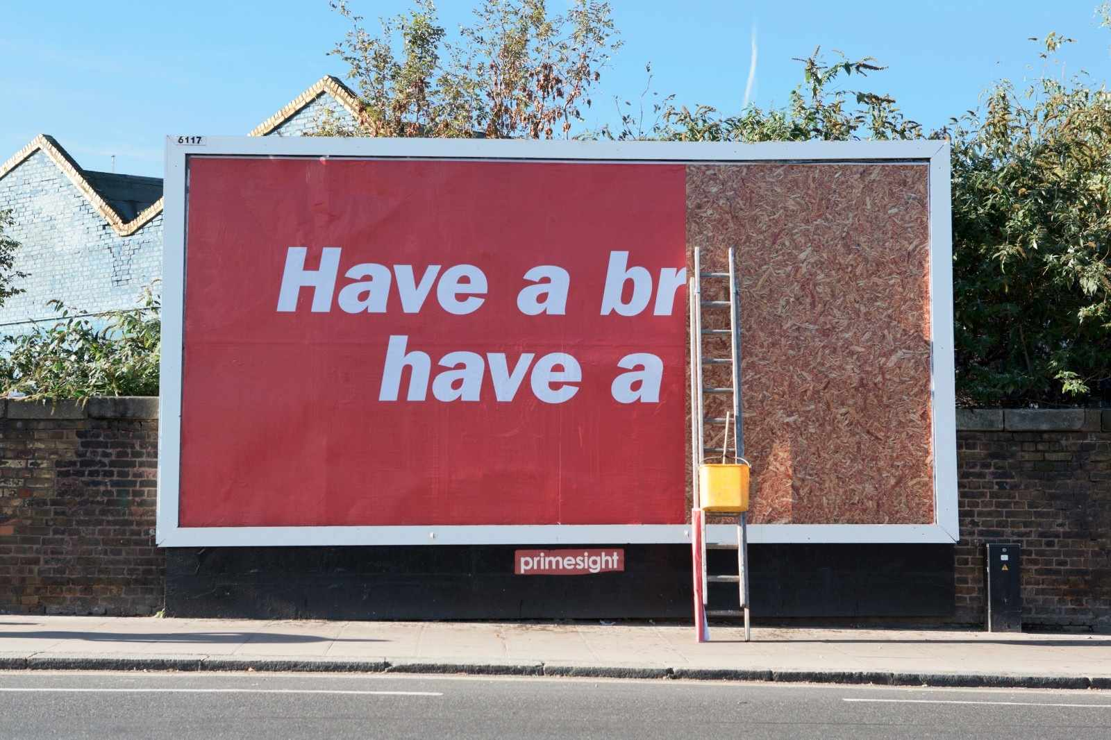 This clever billboard from KitKat is just one way you can use your space creatively in outdoor advertising.