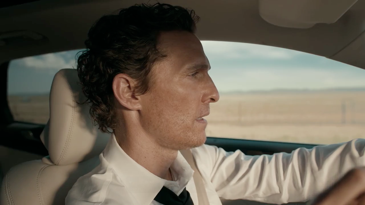 Matthew Mcconaughey Talks A Lot Of Bull With Just A Few Words In