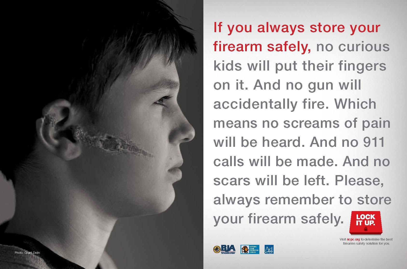 Children Tell Parents To Lock It Up In Merkley S Gun