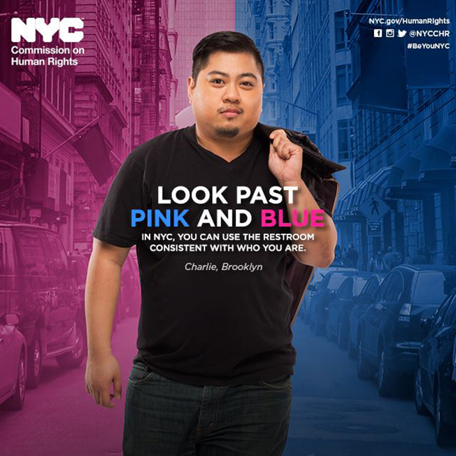 NYC Launches U.S.'s First Public-Funded Ads Supporting Gender Identity Bathroom Use