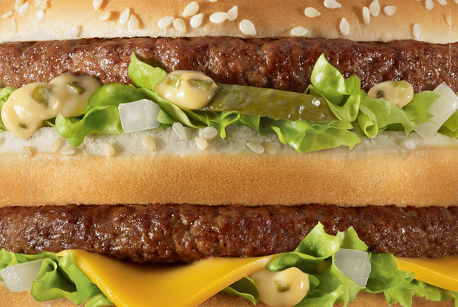 McDonald's Figures It Needs Only the Product, Not the Branding, in Striking New Ads