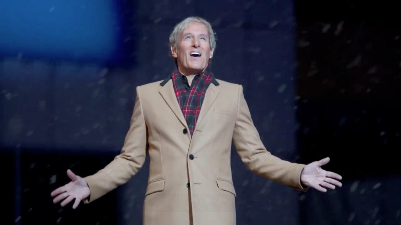 bask in these cheesy originals - Michael Bolton Christmas