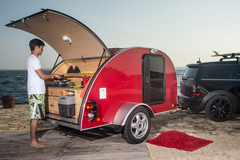 Minis Adorable Tiny Camping Caravan May Be The Coolest Vehicle
