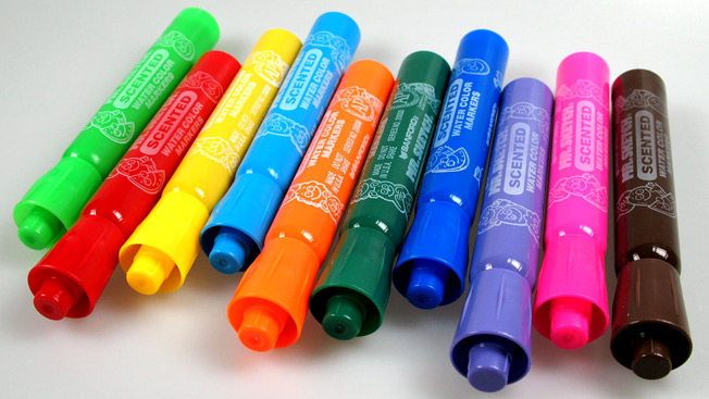 You'll Nether Believe How Mr. Sketch Scented Markers Get So Stinky