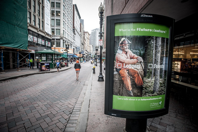 Nature Conservancy Ads Paint the Planet's Future as Either/Or