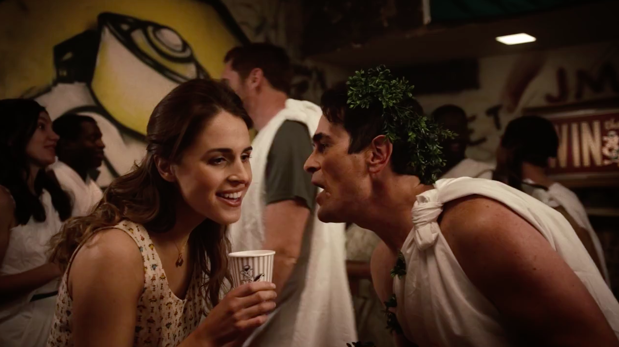 nike recreated the toga party from animal house with famous
