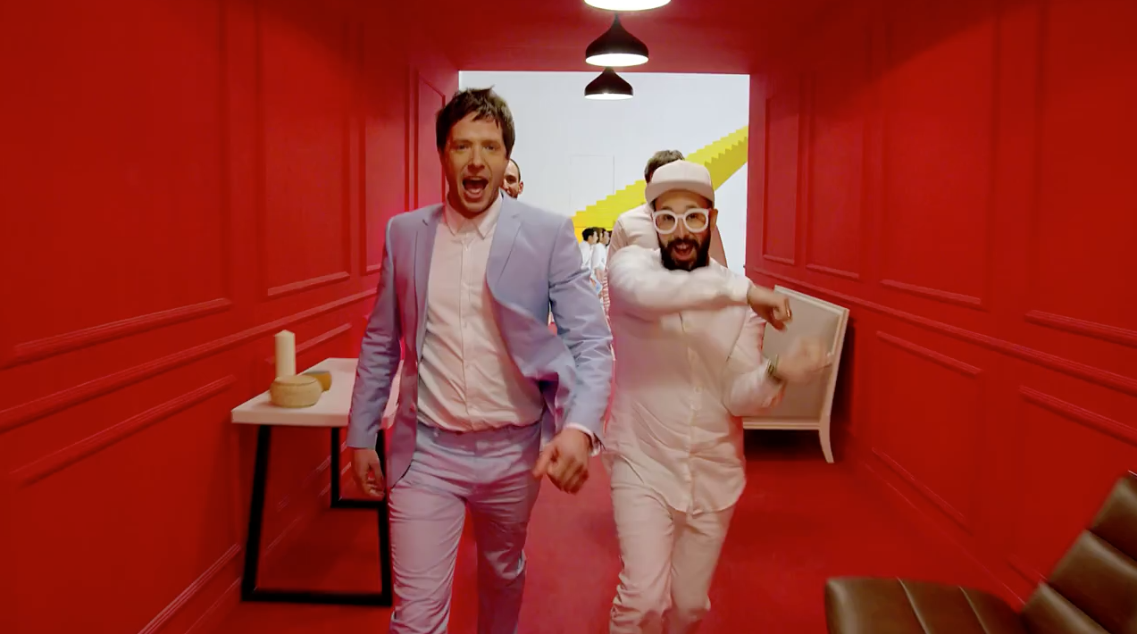 OK Go's First Official Ad Is for Chinese Furniture, and It's Full of Optical Illusions