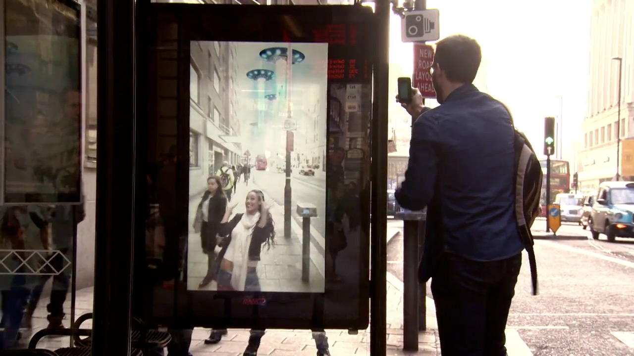 Pepsi MAX Bus Shelter Makes Riders Think the World Is Coming to an End