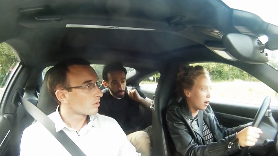 Porsche Punks New Drivers by Making Them Take Their Test in