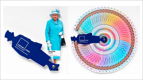 Queen Elizabeth Gets Color Coded By Pantone And Leo Burnett Adweek