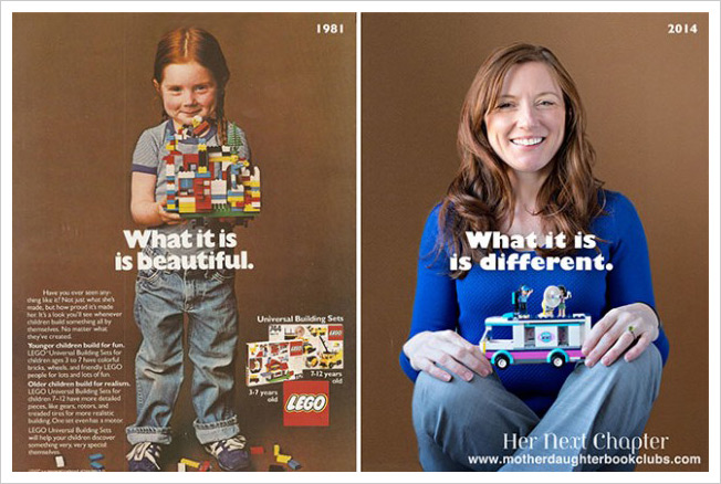 Girl From Famous 1981 Lego Ad Has a Few Things to Say About Today's Gendered Toys