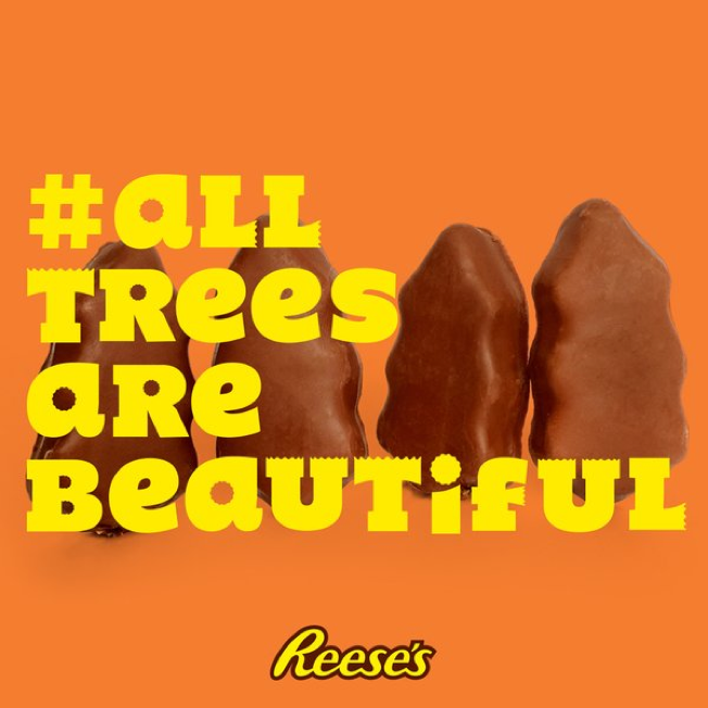 Reese S Turned Gripes About Its Ugly Christmas Candy Into Funny Ads