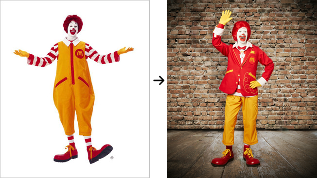 Ronald McDonald Gets a Makeover and Plans All-Out Clown Assault on Social Media
