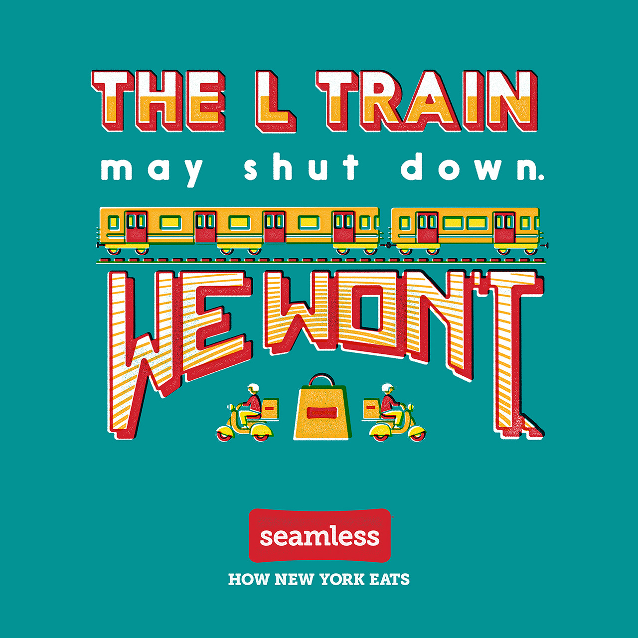 Seamless Is Back With More Witty Poster Ads That New Yorkers Are