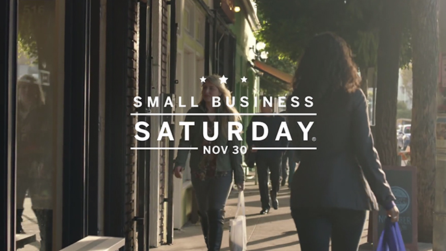 AmEx Small Business Saturday Spot Pops on YouTube