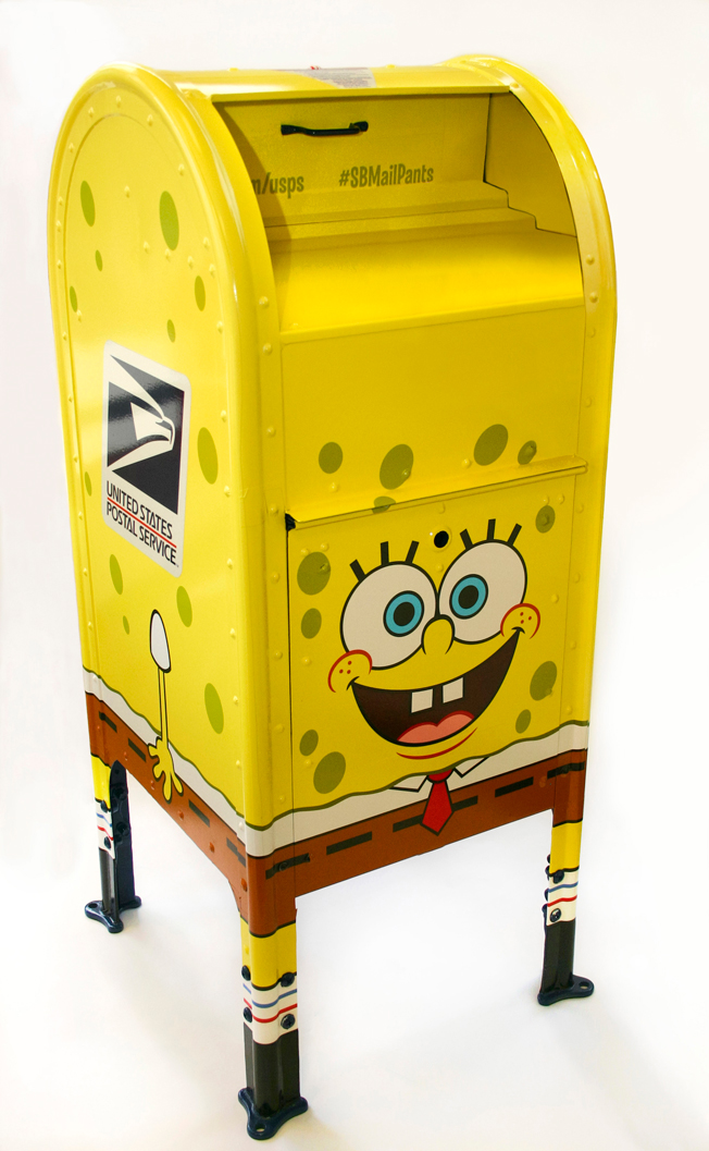 SpongeBob Is Coming to a USPS Mailbox Near You in Nickelodeon's Holiday Push