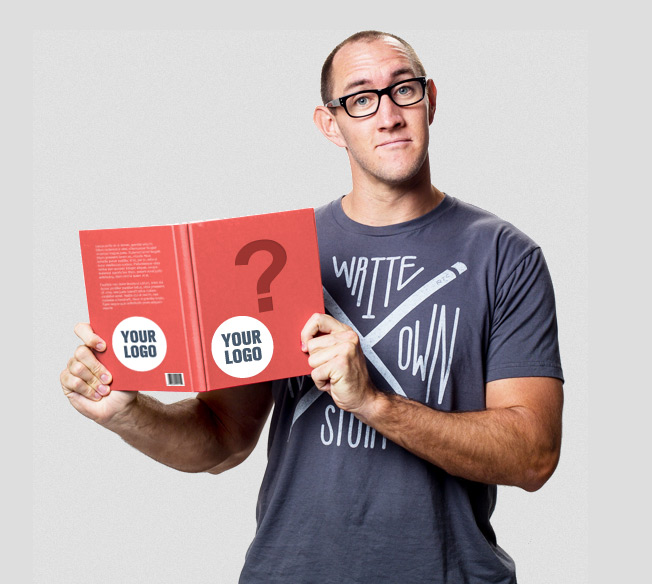 The IWearYourShirt Guy Is Selling Ads on Every Page of His Upcoming Marketing Book