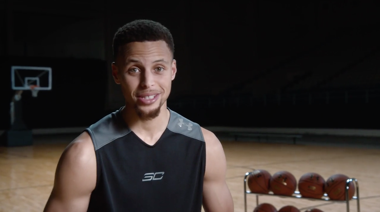 3e203ff50241 Under Armour Is Making a New 3-Second Ad for Every Stephen Curry 3-Pointer  in the Playoffs