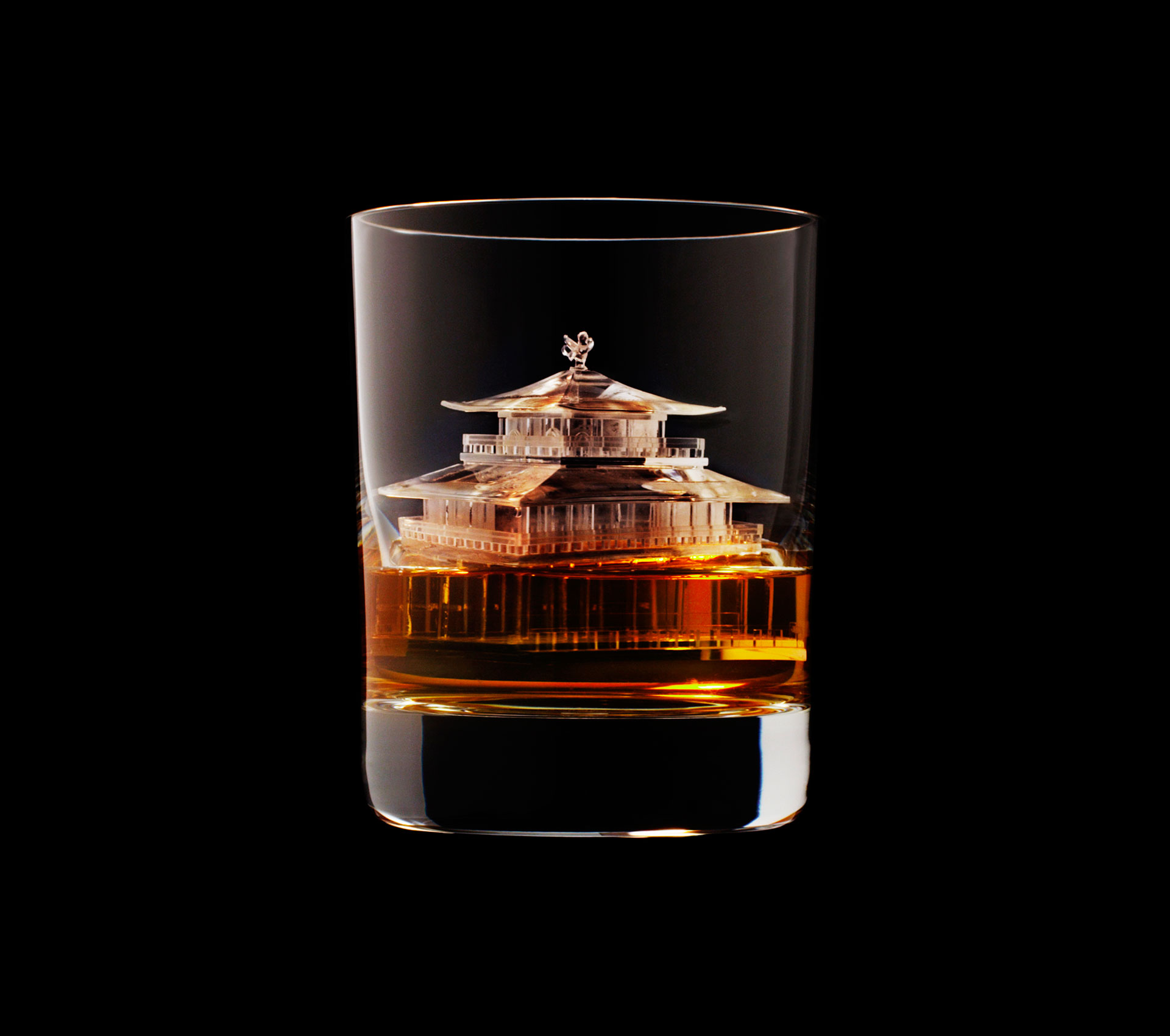 Suntory Whisky Carved the World's Most Incredible Ice Cubes
