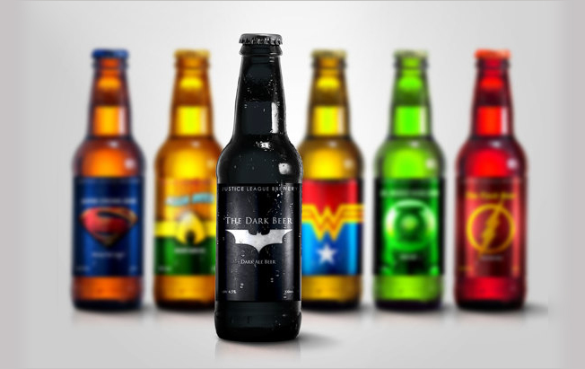 Designer Brews Up a Super Set of Comic Book Beer Labels