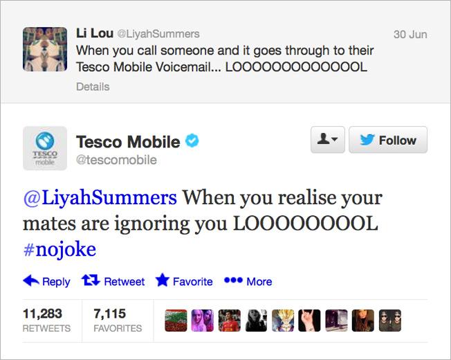 Minion Why Tesco Mobiles Hilarious Twitter Feed Is Actually No Joke Adweek Why Tesco Mobiles Hilarious Twitter Feed Is Actually No Joke Adweek