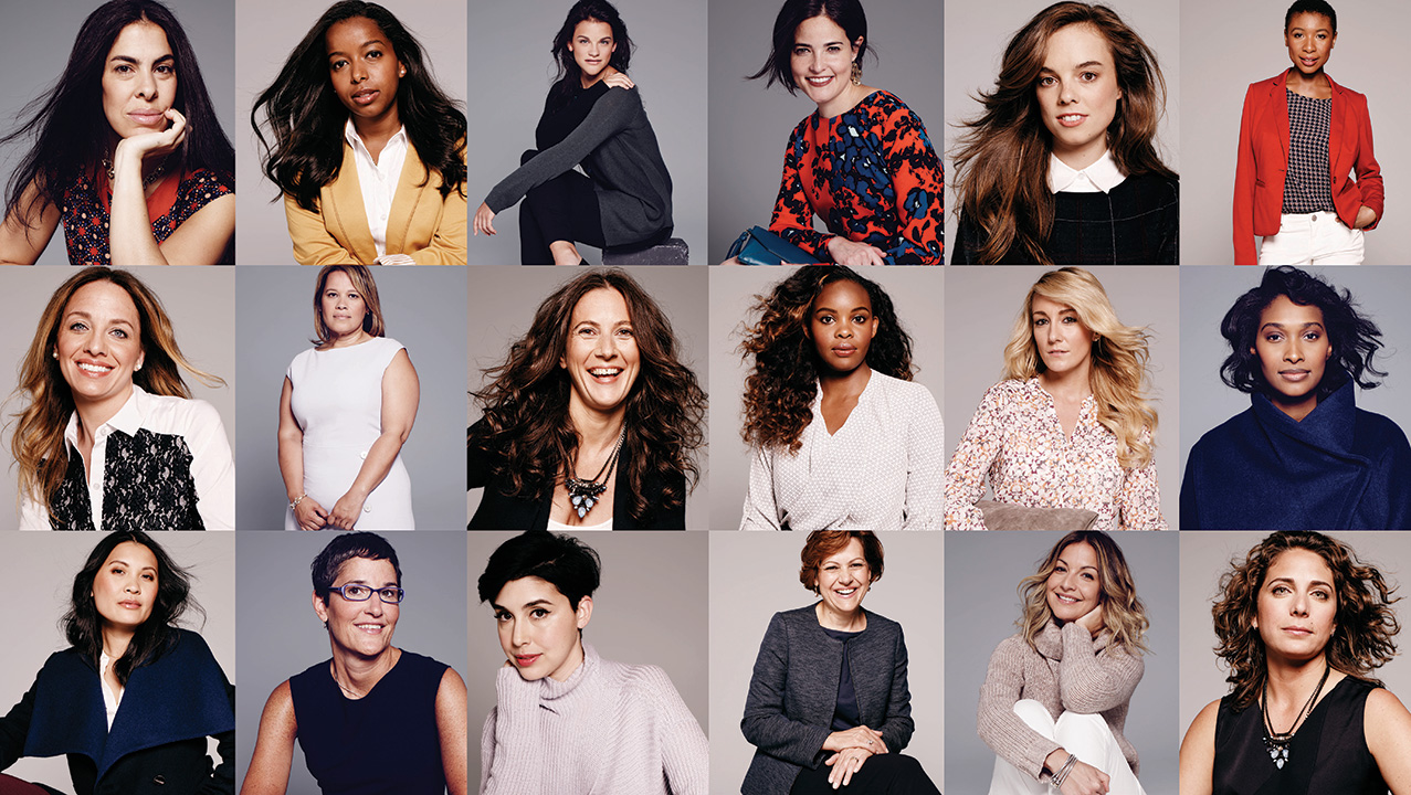 Fashion And Beauty Recruitment Agencies: Dozens Of Women Leaders Star In The Limited's Fall Fashion