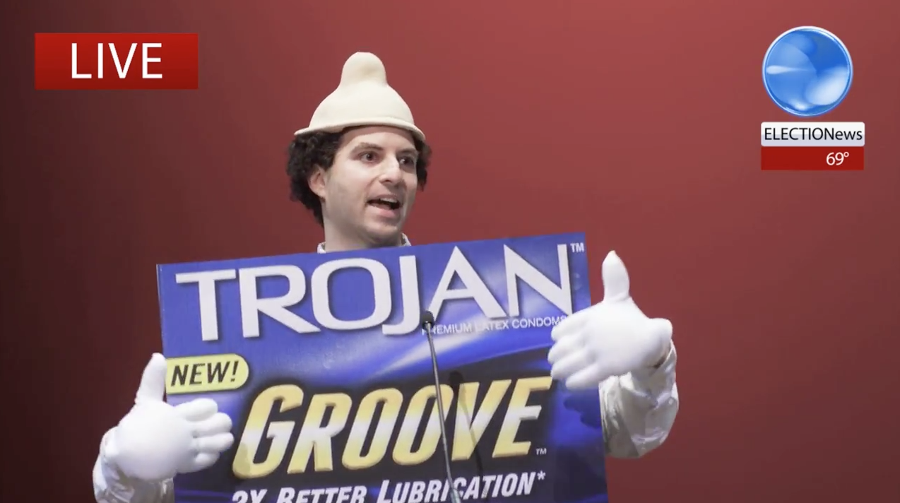 add Trojan condom