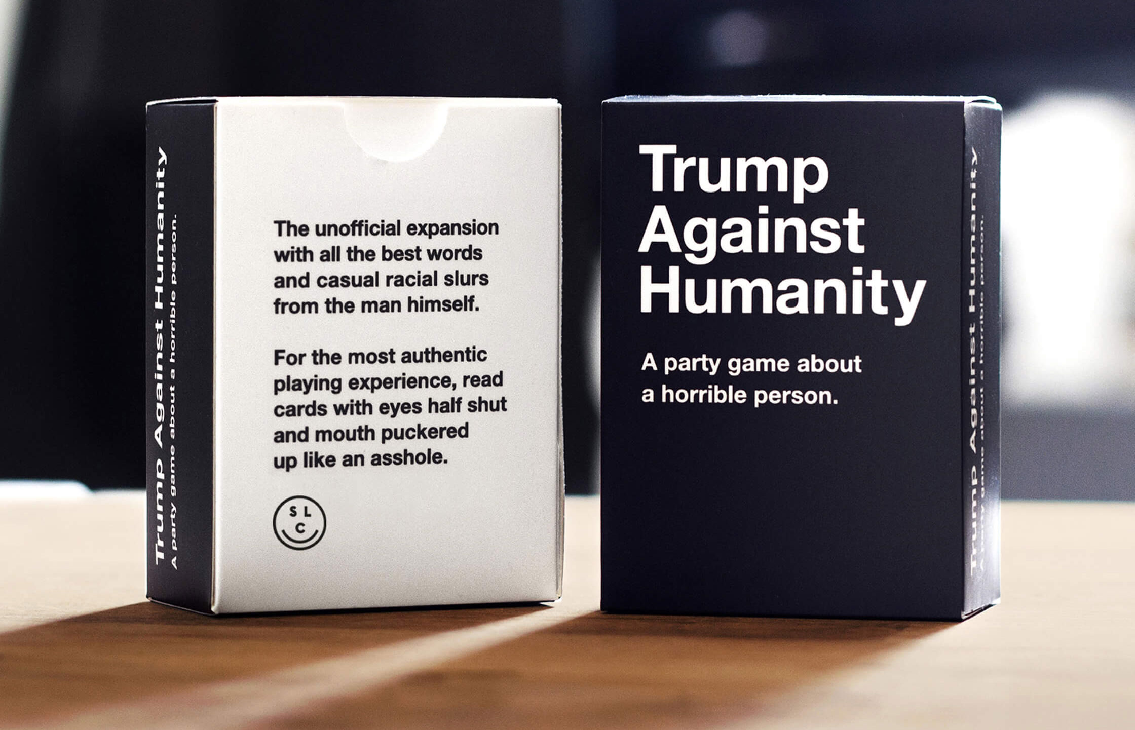 love cards against humanity and hating on donald trump? have we got