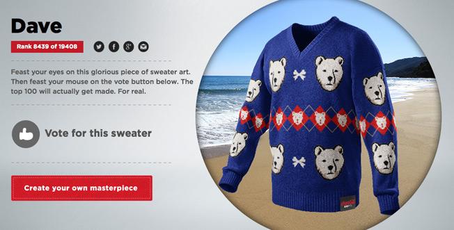 Coke Zero Invites You to Design, and Perhaps Even Wear, the Ugliest Christmas Sweater Ever
